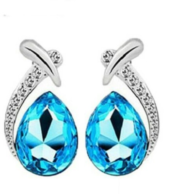 University Trendz Univ_E076 Crystal Alloy Stud Earring
