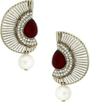 the jewelbox Chaand Copper Drop Earring
