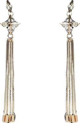R18Jewels-Fashion&U Sensuous Diva Metal, Crystal Tassel Earring