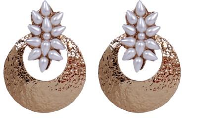 Grand Jewels NSE1002 Pearl Alloy Earring Set