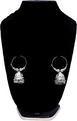 Surhome Spring Sparkle Metal Jhumki Earring