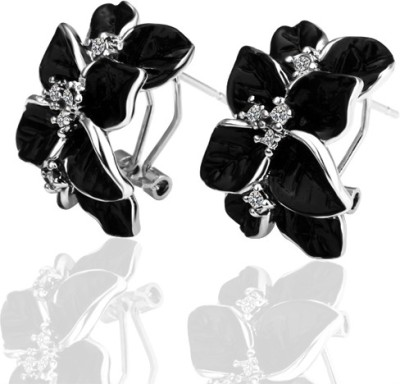 iSweven Precious shining imported lively a girls friend Zircon Alloy Cuff Earring
