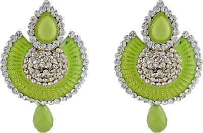 Aahaan green _ jh _01 Alloy Chandelier Earring
