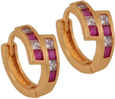 SuperShineJewelry Spring Sparkle Zircon Brass Stud Earring