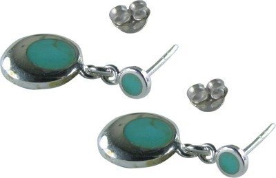 Collana charm Sterling Silver Stud Earring