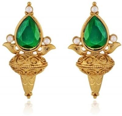 Rooh Jewellery Indo Western Brass Stud Earring
