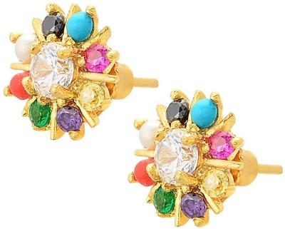 Kimatra COLORFUL FUSION Cubic Zirconia Alloy Stud Earring
