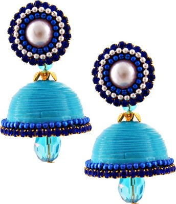 Halowishes EAR155 Paper Jhumki Earring