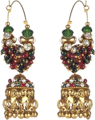 Jaipur Couture Bride,S Friend Metal Jhumki Earring