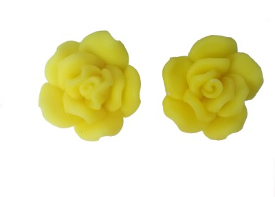Krazzy Collection Rose Alloy Stud Earring