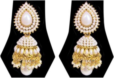 Triumphin Ethnic Royal Zinc Jhumki Earring