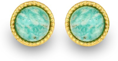Exxotic Jewelz Stunning Style Turquoise Silver Stud Earring