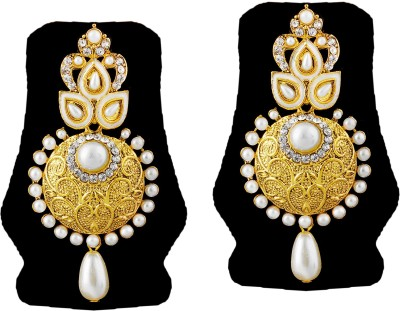 TAKSPIN Takspin party wear collectible tribal earring ( Indian jewellry) Alloy Drop Earring