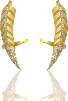 Chandrika Pearls Beautiful Copper Cuff Earring