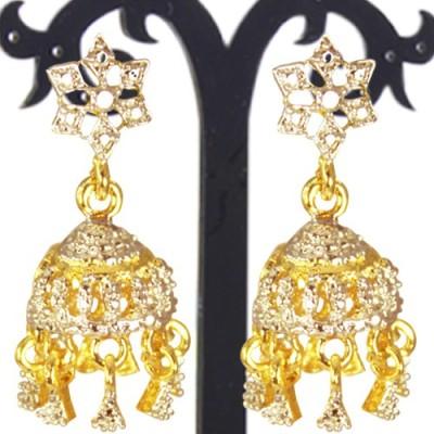 Prisha PPIPLCZER62 Zircon Copper Jhumki Earring