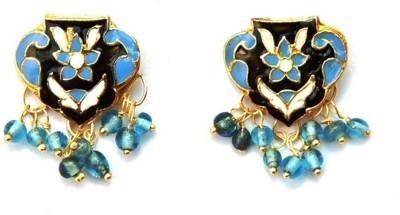 Jodhpuriyas GGP-371(C) Brass Stud Earring