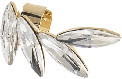 AQ Kari Crystal Acrylic Cuff Earring