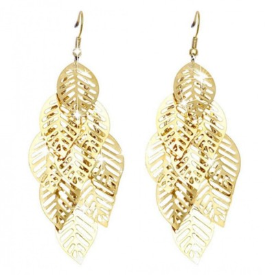 19 Likes Ethnic Fusion Alloy Drop Earring