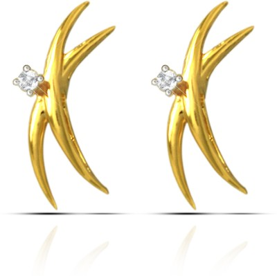 Prisha Collection Silver Stud Earring