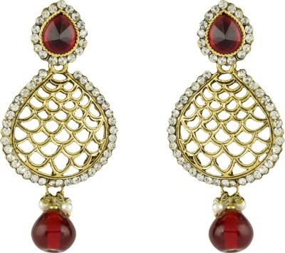 R18Jewels-Fashion&U Spectacular Sparkling Crystal Metal Dangle Earring