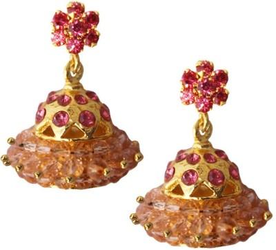 Beingwomen Stone Studded Fashion Alloy Jhumki Earring