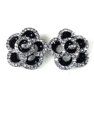maya creation exclusive kundan German Silver Stud Earring