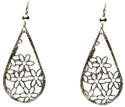 LeCalla Flower Power Everyday Sterling Silver Dangle Earring