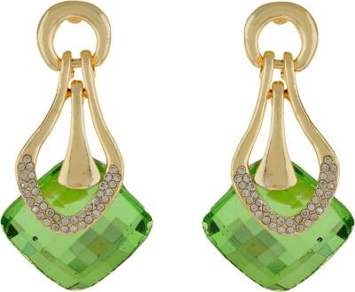 Numaish Stylish Crystal Alloy Stud Earring