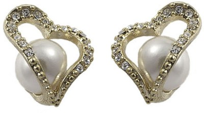 Gildermen GMEA7LKRR5 Pearl Alloy Stud Earring