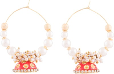 Kshitij Jewels Designer Alloy Jhumki Earring