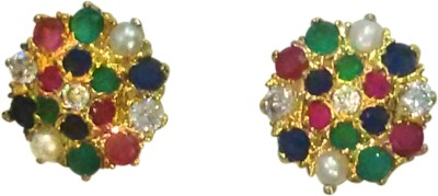Deco Junction Ethnic Alloy Stud Earring
