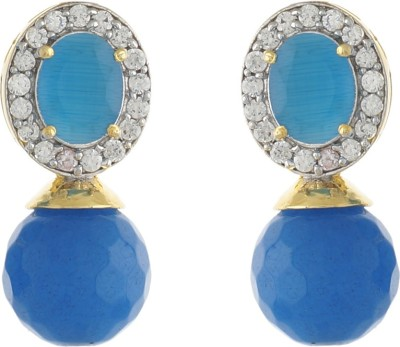 Jewel Planet Lovable Beads Alloy Stud Earring