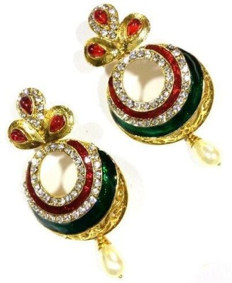 Bbold Meena Enamel Dangle Earring