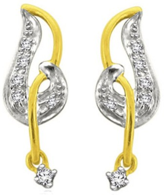 Sparkles T7917D Yellow Gold 18kt Diamond Stud Earring