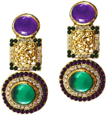 Beingwomen Elegant Stone Studded Fashion Alloy Drop Earring