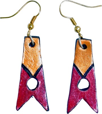 Retaaz Prasunaka Karnika Terracotta Ceramic Dangle Earring