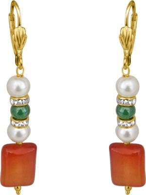 Surat Diamond Pearl, Onyx Metal Clip-on Earring