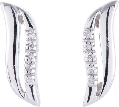 Zevrr Shinny Swarovski Crystal Sterling Silver Drop Earring