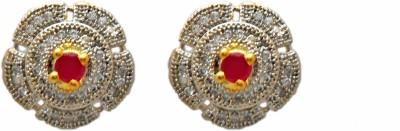 My Design Brass AD Tops Brass Stud Earring