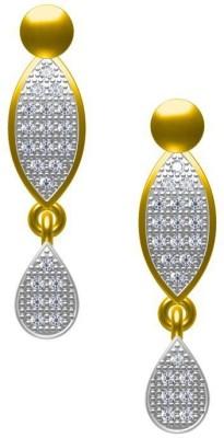 Twisha Twishas New CZ Alloy Stud Earrings Cubic Zirconia Alloy Stud Earring