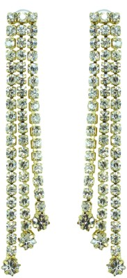 Suvini Color Spark Crystal Alloy Dangle Earring