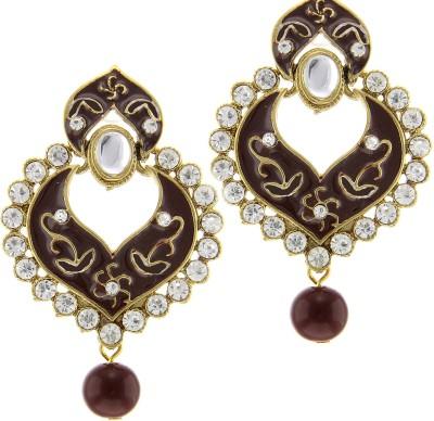 Kaizer Jewelry Parampara Style Diva Alloy Chandbali Earring
