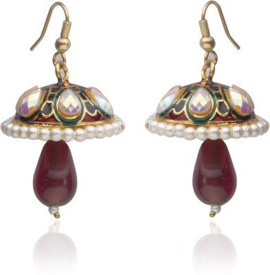 Veracious Jewellery Jhumki Pearl Brass Jhumki Earring