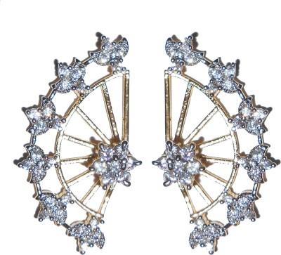 Shubh 4u Beautiful Cubic Zirconia Alloy Cuff Earring