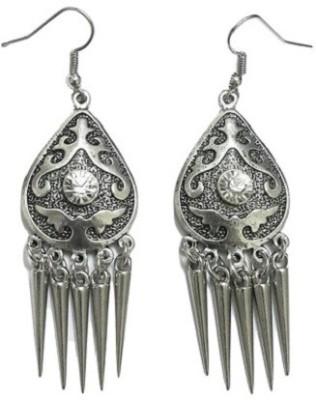 Bling-Bling Grey Fashionable Hanging Alloy Dangle Earring
