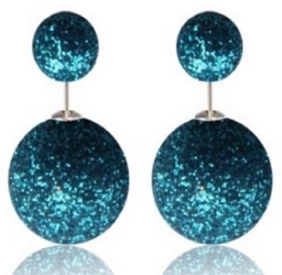Stile 16MM Double Pearl Alloy Stud Earring