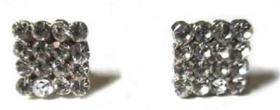Sai Shop Silver Plated Metal Stud Earring