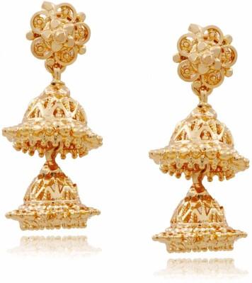 Jewbang Hyderabadi Style Alloy Jhumki Earring