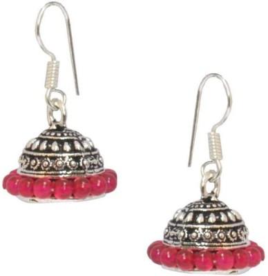 Saffron Craft Colorful Beads Alloy Jhumki Earring
