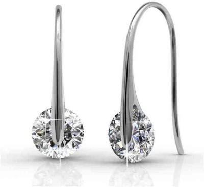 Joyra smarty Cubic Zirconia Sterling Silver Dangle Earring